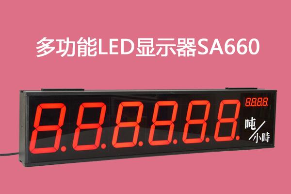 SA660多功能显示器